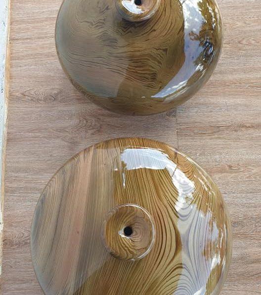 Bình phú quý gỗ thủy tùng