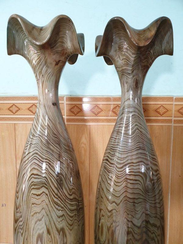 Tỳ bà gỗ thủy tùng xanh 102-24cm