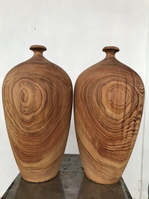 Chum lọ gỗ thủy tùng đỏ