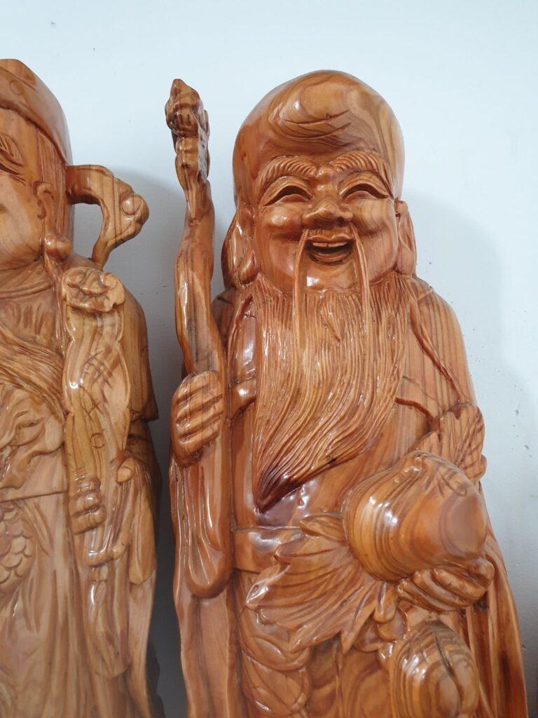 tượng ông thọ - tượng trưng cho sự trường thọ, cả nhà luôn mạnh khỏe