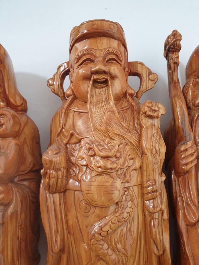 tượng ông lộc - tượng trưng cho sự giàu có, sung túc